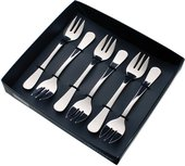 Набор столовых приборов для устриц Herdmar Rocco, 6 предметов 089464701170100000
