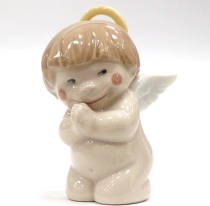 Статуэтка фарфоровая Святой ангелочек (Heaven Sent) 8см NAO 2005060