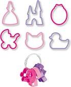 Формочки для печенья Tescoma Delicia Kids для девочек, 6шт 630920.00