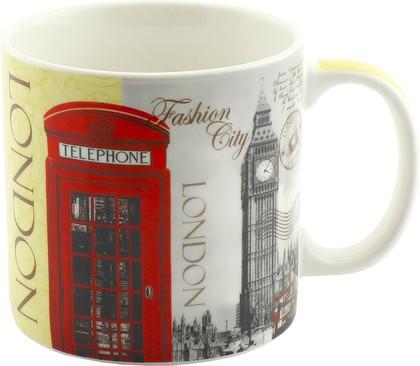 Кружка Новый Лондон Джамбо 550мл The Leonardo Collection LP33445
