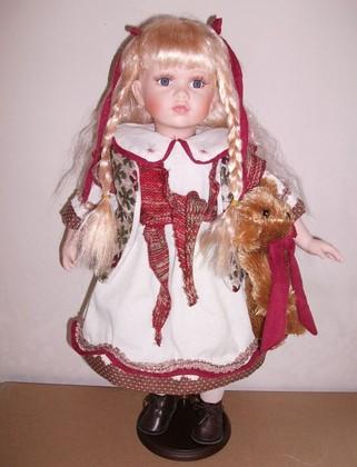 Кукла фарфоровая Top Art Studio Эстелла 51см WA1250-TA