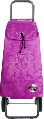 Сумка-тележка хозяйственная фиолетовая Rolser LOGIC RG PAC036malva