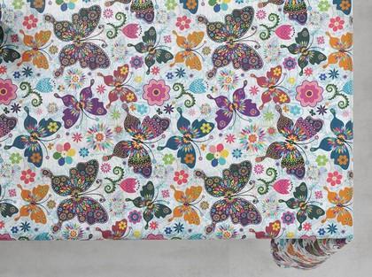 Скатерть текстильная d140см, бабочки Aitana Sorolla SORO/000140/batt