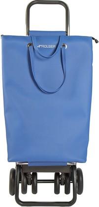 Сумка-тележка хозяйственная синяя Rolser LOGIC TOUR SUP003azul