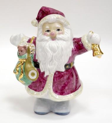Скульптура Дед Мороз 14.5см Дулёвский фарфор 000352