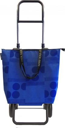 Сумка-тележка Rolser Logos Mini Bag, 2 колеса, складная, синяя MNB011azul