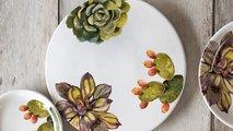 Тарелка обеденная Nuova Cer Cactus, 27см 9120/2-CAT