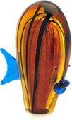 Фигурка стеклянная Top Art Studio Оранжевая рыбка, 14x19см ZB2163-TA
