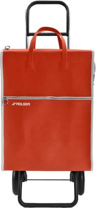 Сумка-тележка хозяйственная красная Rolser RG LIDER LID001rojo