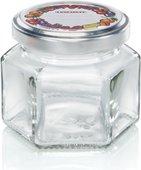 Банка для консервирования Leifheit 106мл, шестигранная, стеклянная 03209