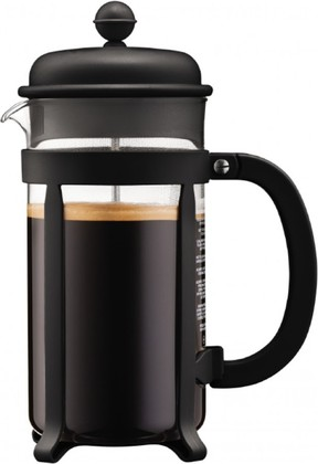 Кофейник с прессом 1.0л, чёрный Bodum Java 1908-01