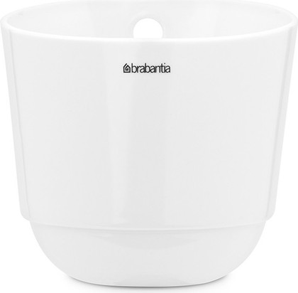 Стакан кухонный для рейлинга большой белый Brabantia 460265
