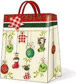 """Пакет подарочный """"Праздничный восторг"""", 26.3x33x13.5см Paw AGB016305"""