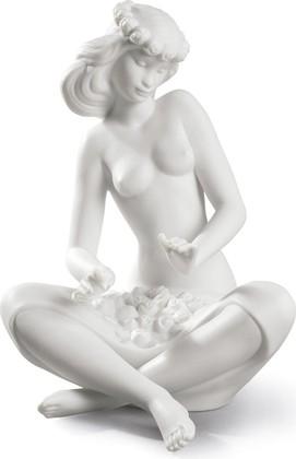 Статуэтка фарфоровая Девушка с Цветами (Island Beauty) 20см NAO 02000524