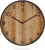 Часы настенные Andrea House эффект дерева Wood AX16100