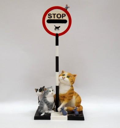 Статуэтка Enesco Кошки-мышки, 22см, полистоун A25211