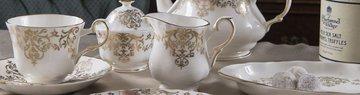 Набор сахарница, молочник, чайная ложка Букингемский дворец Roy Kirkham XBUCK1249