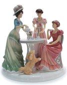 Статуэтка English Ladies Чаепитие 27.5см, фарфор ELGELS05601