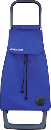 Сумка-тележка хозяйственная синяя ROLSER Joy-1800 BAB012azul