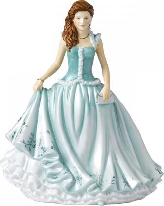 Статуэтка Карен в бирюзовом 22см Royal Doulton HNFISC26546