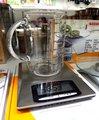 Весы электронные кухонные металлические 5кг/1гр/1мл Soehnle Optica 67079