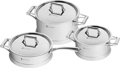 Набор посуды из нержавеющей стали, 6 предметов Yamateru MONOGATARI 4991103