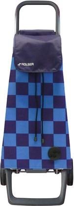 Сумка-тележка хозяйственная синяя Rolser JOY JET JET027azul