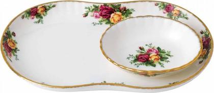 Сервировочное блюдо для крудите Розы Старой Англии, 30 см Royal Albert 40006483