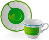 Сервиз чайный Fade Servizio Giotto, чашки с блюдцами, 200мл, 6 персон 51099