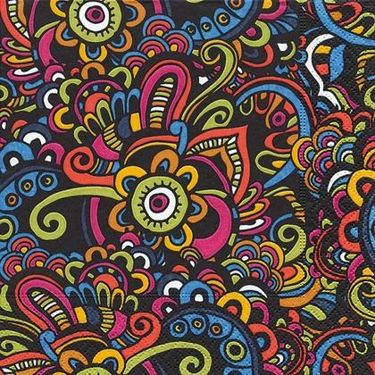 Салфетки для декупажа Paper+Design Этнические узоры, 33x33см, 20шт 21926