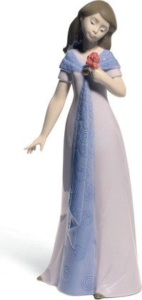 Статуэтка фарфоровая NAO Элегантная поза (Elegant Pose) Специальное издание 25см 02001706