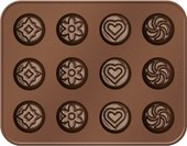 Формочки для шоколада, микс Tescoma Delicia Choco 629368.00