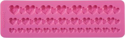 Силиконовые формочки, бордюр с сердечками Tescoma DELICIA DECO 633040