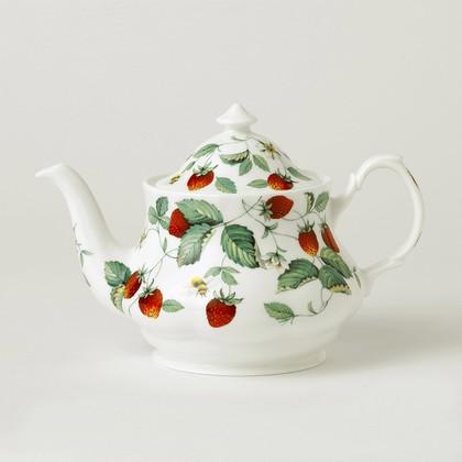 Чайник заварочный Альпийская Земляника, 1.0л Roy Kirkham XALP1220
