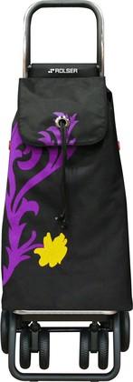 Сумка-тележка хозяйственная фиолетовая Rolser Logic Tour IMX012malva