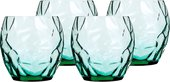 Набор зеленых стаканов Prezioso, 4шт 400мл Luigi Bormioli 11585/01