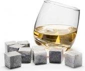 Набор кубиков из камня SagaForm Gold Club для охлаждения напитков, 9шт 5016350