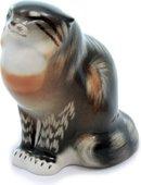 Скульптура ИФЗ Дикий кот, фарфор 82.01002.00.1