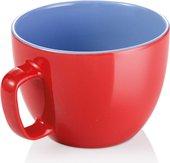 Кружка Tescoma Crema Shine Большая 590мл, красный 387194.20