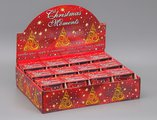 "Свеча ""Счастливого рождества"" стакан 8х7мм Bartek Candles 169061"