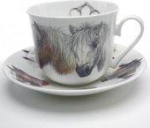 Чайная пара Лошади, Chatsworth, 480мл Roy Kirkham XHORH1100