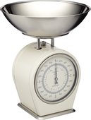 Весы кухонные Kitchen Craft механические Living Nostalgia creamy LNSCALECRE