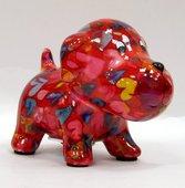 Копилка мини Собачка, красный 13.5x8.5x10см Pomme-Pidou 148-00249/A