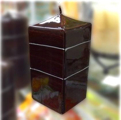 "Свеча ""Венге"", блок 6х6х13см Bartek Candles 234022"