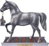 Статуэтка Enesco Лошадь Железный конь, 18.5см, полистоун 4030255