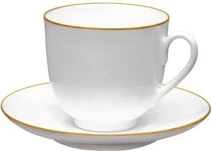 Чашка с блюдцем Золотой кантик, ф. Ландыш ИФЗ 81.14287.00.1