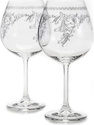 Бокалы для красного вина Crystalite Bohemia Кружево, 2шт., 650мл 4S032/650/28183х2