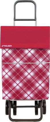 Сумка-тележка хозяйственная красная DOS+2 Rolser DML022rojo