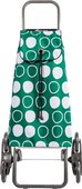 Сумка-тележка Rolser Symbol, зелёная, 6 колёс, шагающая, складная IMX088Verde