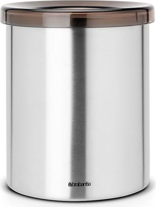 Настольный контейнер для мусора 1л стальной матовый Brabantia 477386